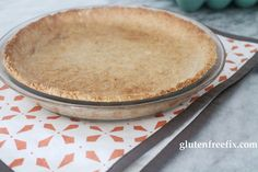 "Easy ""Graham Cracker"" Crust made with almond flour"