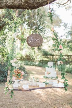 Southern Garden Chic Wedding Inspiration, garden wedding