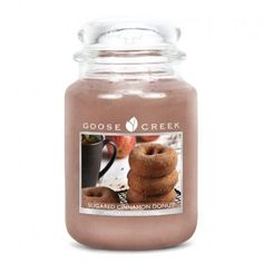 Goose Creek Candles Free P&P, Great Prices at www.presentandcorrect.co.uk https://www.presentandcorrect.co.uk/	goose-creek-24oz-2-wick-candle---sugared-cinnamon-doughnut Goose Creek 24oz 2 Wick Candle - Sugared Cinnamon Doughnut https://www.presentandcorrect.co.uk/  A mouthwatering mix of cinnamon sugar, vanilla bean, and raw sugarcane poured over a warm homemade donut for an ultimate, fresh baked scent.