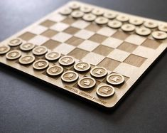 This minimal chess set has been laser cut out of 3 or birch ply and hand-sanded finished. Laser Art, Laser Cut Wood, Laser Cutting, Laser Cutter Ideas, Laser Cutter Projects, Lazer Cutter, 3d Laser Printer, Gravure Laser, Birch Ply