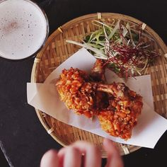 How to make Spicy Fried Chicken Drumettes.