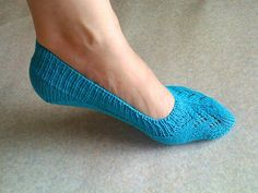 Ravelry: Project Gallery for Skimmer Socks (No Show Socks) pattern by Sheila Toy Stromberg