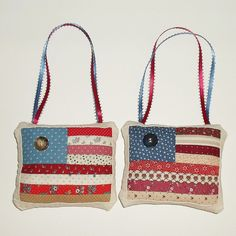 SUMMER RED WHITE and BLUES by Maryann on Etsy featuring my patriotic star soap. Happy Owl Treasures