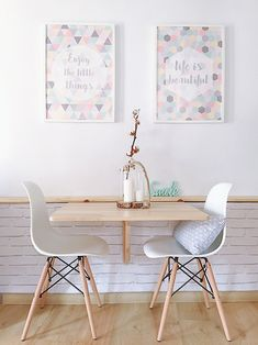 good practical small living dining room ideas for you to try 31 Small Living Dining, Tiny Dining Rooms, Small Kitchen Tables, Decoration Restaurant, Home Remodel Costs, Appartement Design, Restaurant Interior Design, Apartment Interior, Tiny Apartment Decorating
