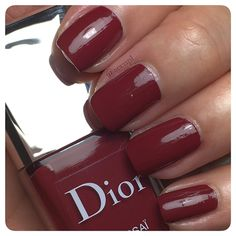 #Dior #nails #nailpolish #swatches .  Instagram: accnpl