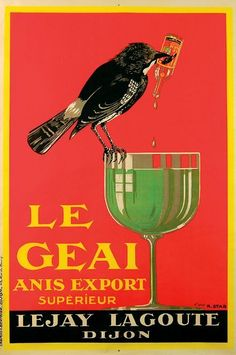I just love birds. Vintage Wine, Vintage Labels, Vintage Ads, Vintage Posters, Retro Poster, Poster Ads, Poster Prints, Retro Advertising, Vintage Advertisements