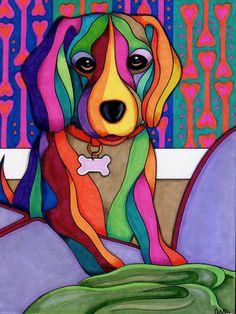 We need to talk by aemgallery animal art 3 абстрактные карти Animal Art Projects, Exotic Art, Bright Art, Wow Art, Art Plastique, Pet Portraits, Cute Art, Bunt, Art Drawings
