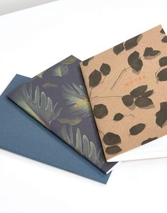 Image 4 - Ohh Deer - Lot de 3 carnets format A6