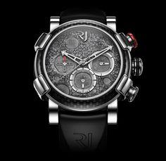 ROMAIN JEROME - Steel Mood Lunar – Grey Chronograph Watch | Noir Kingdom