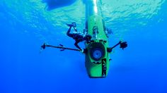 """Deep Sea Challenge 3D,"" epic adventure of James Cameron's dive to the bottom of the Mariana Trench, opening in U.S. theaters on August 8, 2014."