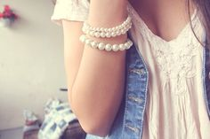pearls complete any outfit