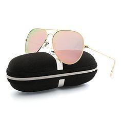 VOPOLAR Sunglasses for Women Men Aviator Polarized Unisex Superlight UV protection Driving with sun glasses Case Summer Sunglasses, Stylish Sunglasses, Glasses Case, Street Style Women, Aviation, Unisex, Retro, Womens Fashion, Classic