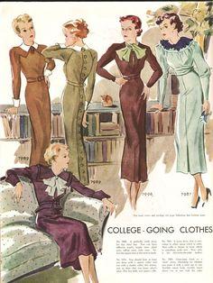 1930年代の女性ファッション | RENOTE [リノート]