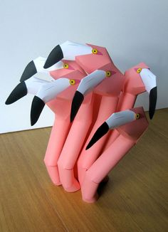 Benja Harney, paper sculpture
