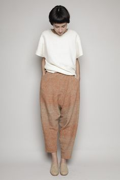 To know more about anntian Drop Crotch Pant, visit Sumally, a social network that gathers together all the wanted things in the world! Featuring over 88 other anntian items too! Look Fashion, Fashion Outfits, Womens Fashion, Mode Style, Style Me, Mode Man, H&m Trends, Drop Crotch Pants, Streetwear