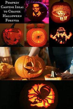 These pumpkin carving ideas are unlike anything you've ever seen. Get inspired to go big this Halloween with these amazing pumpkin carvings!