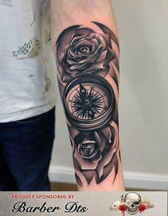 Emilio Winter - compass and rose piece