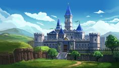 Legend of Zelda - Hyrule Castle by Minionslayer.deviantart.com on @DeviantArt