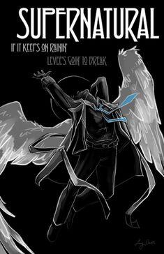 Dean And Cas, Supernatural Fan Art, Swan Song, Winchester Boys, Geek Art, Destiel, Big Bang Theory, Superwholock, Hunger Games