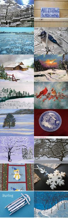LAST DAYS of WINTER 2015 by MaryBeth Willis on Etsy--Pinned with TreasuryPin.com