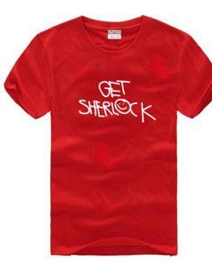 Get Sherlock t shirt for men loose style-