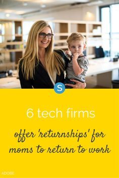 a0d5a68a5 Moms who left the tech workplace to raise children, or perhaps to care for  an