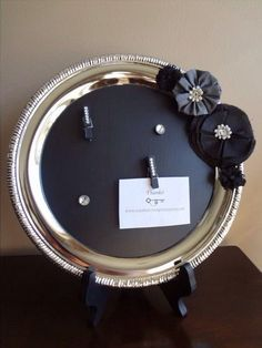 This site has some beautiful chalkboard paint silver trays for sale. www.nataliesvintagetreasures.com, chalkboard paint, upcycled silver tray, antique silver tray, silver tray, repurposed silver tray, DIY chalkboard paint,