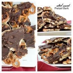 Salted Caramel Pretzel Bark | The Idea Room | Bloglovin'