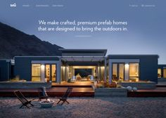 Blu Homes | CSS Website