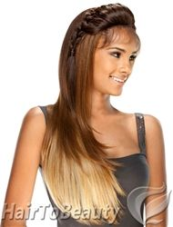 Lace front Wig $35.00 synthetic wig with braided top.