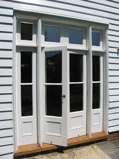 This excellent french entry doors is a very inspirational and great idea Exterior Entry Doors, French Doors Exterior, Rustic Interior Barn Doors, Edwardian House, House, Doors, Patio Doors, External Doors, External French Doors