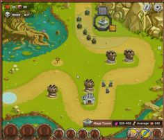 King Of Towers is a Free to Play Browser-Based [BB] Tower Defense Game with elements of RPG [Role Playing Game]