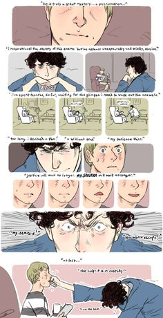 the worst game feral-strangers: Anything with Watson and his tongue doing that weird-awesome thing it does would be wonderfully pleasant. lizerbeth: Can you draw something where Sherlock points out...