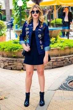 Look do dia : a jaqueta mais descolada ever por Niina Secrets   blog : http://niinasecrets.com.br/ <3 <3