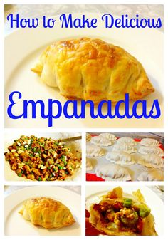 Last night I posted a picture on Instagram of my homemade empanadas and I had so many requests for the recipe, I figured making empanadas ne...