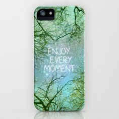 "FREE Worldwide Shipping and $5 Off Each Item ends Sunday at midnight PST! http://society6.com/artist/GUIDOMONTANES Sky dreams. ""Enjoy every moment"" iPhone & iPod Case by Guido Montañés - $35.00"