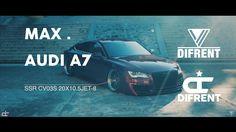 4K DIFRENT / AUDI A7 / DUBS / STANCE / LOW LIFE / VW / HELLAFLUSH