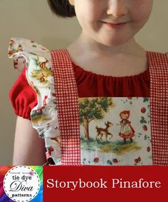 Tie Dye Diva Patterns: A Year of Dresses: Storybook Pinafore and Easy Peasy Peasant