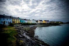 Portmagee, Ireland. Where I stayed when I went to Skellig Michael. Probably the smallest town we stayed in and the best experience I have ever had in my life. Went to the local pub for a drink and they had traditional music and locals had come from miles around to do their traditional Irish dances in, get this, their actual dancing shoes. I love the Irish.