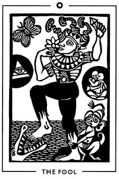 The Fool - Light and Shadow Tarot by Michael Goepferd and Brian Williams