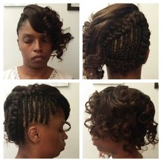 *My Work* Partial Sew-in With Braids