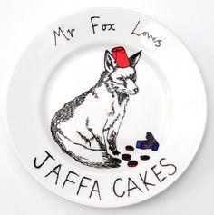 Mr Fox Plate