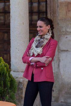 Eva González, con jeans Salsa