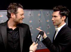 The Voice's Adam Levine Threatens Blake Shelton: It's On in Season ...