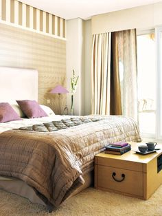 dormitorio color cálido