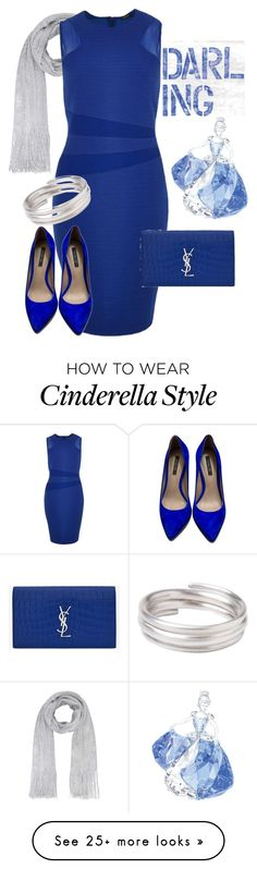 """""""Blue Bayou"""" by ljbminime on Polyvore featuring Swarovski, River Island, Yves Saint Laurent, Rachel Zoe and Toast"""