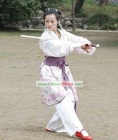 Ancient Chinese Kung Fu Women Uniform