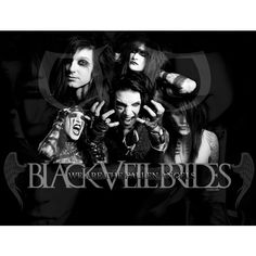 Black Veil Brides Wallpapers and Background ❤ liked on Polyvore featuring bvb and black veil brides