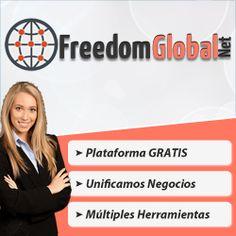 Miercoles 19 de noviembre a las 21 horas de España Conferencia Freedom Global Net, Primera Red GRATUITA para entrar en #negocios GRATUITOS https://www.facebook.com/events/402724906542449/ #MLM #multinivel #networking #NetworkMarketing #NegociosOnline #NegociosenInternet #NegociosPorInternet