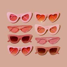 vaporwave aesthetic retro wallpaper Curated Gift B - retrowallpaper Sunglasses For Your Face Shape, Cute Sunglasses, Cat Eye Sunglasses, Vintage Sunglasses, Drawing Sunglasses, Sunglasses Accessories, Sunglasses Women, Summer Sunglasses, Sunglasses Online